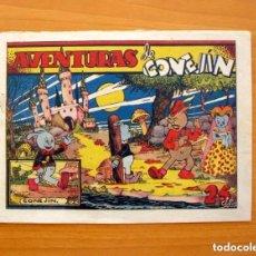 Tebeos: IGA - CONEJIN - Nº 1 - AVENTURAS DE CONEJIN - EDITORIAL HISPANO AMERICANA 1943. Lote 71159941
