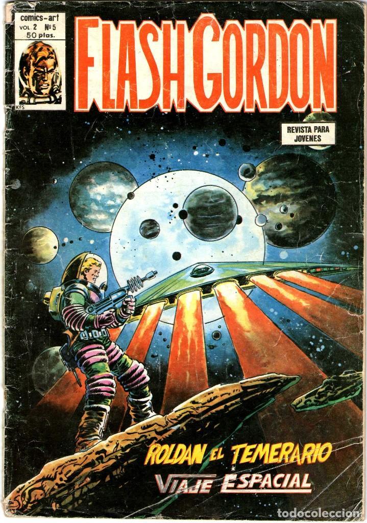 REVISTA FLASH GORDON Nº 5 VOL 2 REVISTAS USADAS LOMO UN POCO ABIERTO (Tebeos y Comics - Hispano Americana - Flash Gordon)