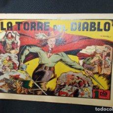 Tebeos: LA TORRE DEL DIABLO - HISPANO AMERICANA - ORIGINAL - IRANZO -. Lote 72237203