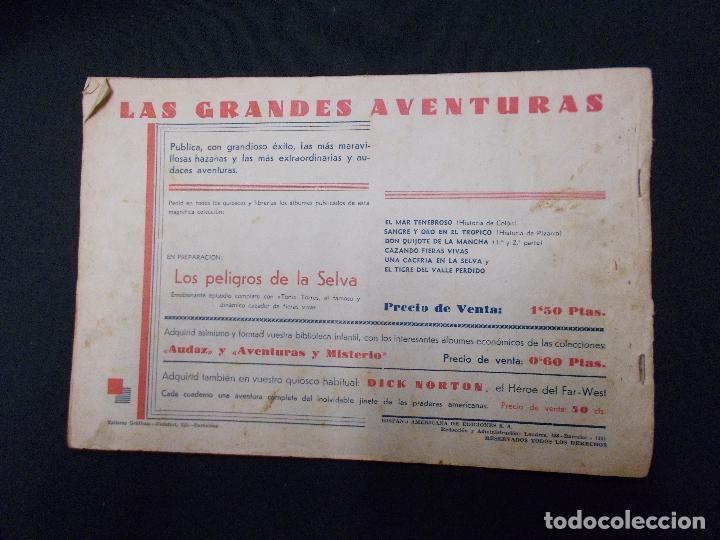 Tebeos: TARZAN - Nº 1 - EL HOMBRE MONO - HISPANO AMERICANA - ORIGINAL - - Foto 9 - 72238471