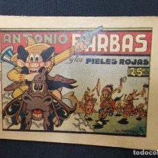 Tebeos: COLECCION COMPLETA - ANTONIO BARBAS - Nº 1 AL Nº 3 - IRANZO - HISPANO AMERICANA - ORIGINAL - . Lote 72461259