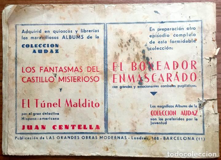 Tebeos: JUAN CENTELLA. ORIGINAL. LA BANDA DEL ANTIFAZ VERDE (COLECCION AUDAZ) - Foto 9 - 72907283
