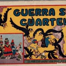 Tebeos: GUERRA SIN CUARTEL. EL PROFESOR MAGNUS CONTRA EL DOCTOR CICUTA. ORIGINAL. AÑOS 40. Lote 74973719