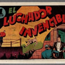 Tebeos: JUAN CENTELLA. EL LUCHADOR INVENCIBLE. HISPANO AMERICANA DE EDICIONES. ORIGINAL. Lote 75718799