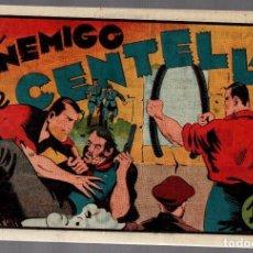 Tebeos: JUAN CENTELLA. EL ENEMIGO DE CENTELLA. HISPANO AMERICANA DE EDICIONES. ORIGINAL. Lote 75719051
