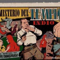 Tebeos: EL MISTERIO DEL TEMPLO INDIO. AVENTURA DEL HOMBRE ENMASCARADO. LAS GRANDES AVENTURAS. ORIGINAL. Lote 76295871