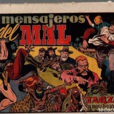 Tebeos: LOS MENSAJEROS DEL MAL. TARZAN EL REY DE LA SELVA. ORIGINAL, AÑOS 40. Lote 76297367