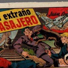 Livros de Banda Desenhada: UN EXTRAÑO PASAJERO CON JUAN CENTELLA. ORIGINAL. AÑOS 40. Lote 76318623