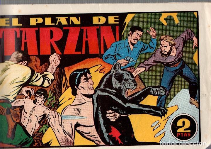 EL PLAN DE TARZAN. LAS GRANDES AVENTURAS. ORIGINAL HISPANO AMERICANA (Tebeos y Comics - Hispano Americana - Tarzán)