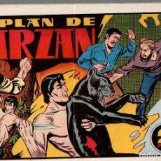 Tebeos: EL PLAN DE TARZAN. LAS GRANDES AVENTURAS. ORIGINAL HISPANO AMERICANA. Lote 76526319