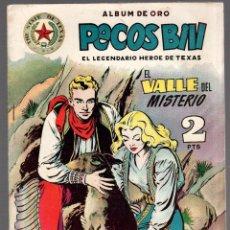 Tebeos: PECOS BILL. EL LEGENDARIO HEROE DE TEXAS. EL VALLE DEL MISTERIO. Nº 4. ORIGINAL. CIRCA 1950. Lote 77225429