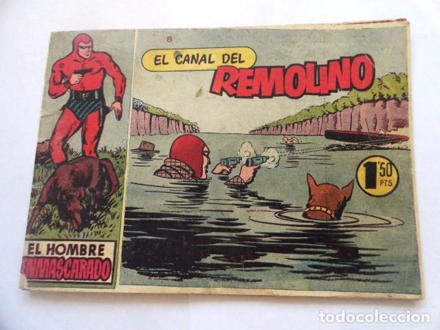 COMIC EL HOMBRE ENMASCARADO, EL CANAL DEL REMOLINO HISPANO AMERICANA (Tebeos y Comics - Hispano Americana - Hombre Enmascarado)