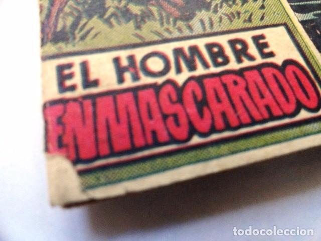 Tebeos: COMIC EL HOMBRE ENMASCARADO, EL CANAL DEL REMOLINO HISPANO AMERICANA - Foto 2 - 77522033