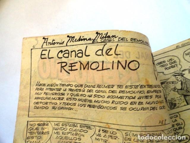 Tebeos: COMIC EL HOMBRE ENMASCARADO, EL CANAL DEL REMOLINO HISPANO AMERICANA - Foto 3 - 77522033