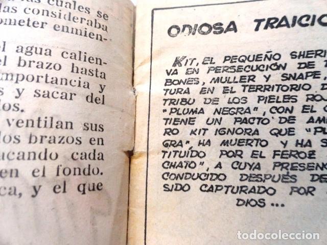 Tebeos: COMIC EL PEQUEÑO SHERIFF ODIOSA TRAICION ,Nº 103 HISPANO AMERICANA - Foto 3 - 77523797