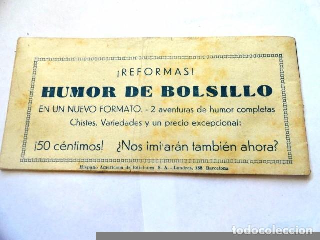 Tebeos: COMIC EL PEQUEÑO SHERIFF ODIOSA TRAICION ,Nº 103 HISPANO AMERICANA - Foto 5 - 77523797