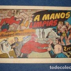 Tebeos: HOMBRE ENMASCARADO 85: A MANOS LIMPIAS, 1941, MUY BUEN ESTADO. Lote 78257369