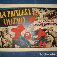 Tebeos: HOMBRE ENMASCARADO 82: LA PRINCESA VALERIA, 1941, BUEN ESTADO. Lote 78320969