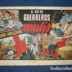 Tebeos: HOMBRE ENMASCARADO 69: LOS GUERREROS MULÍS, 1941, BUEN ESTADO. Lote 78323425