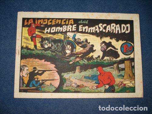 HOMBRE ENMASCARADO 68: LA INOCENCIA DEL HOMBRE ENMASCARADO, 1941, BUEN ESTADO (Tebeos y Comics - Hispano Americana - Hombre Enmascarado)