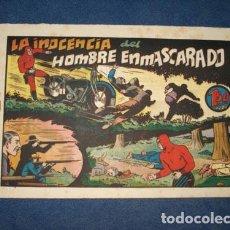Tebeos: HOMBRE ENMASCARADO 68: LA INOCENCIA DEL HOMBRE ENMASCARADO, 1941, BUEN ESTADO. Lote 78323781