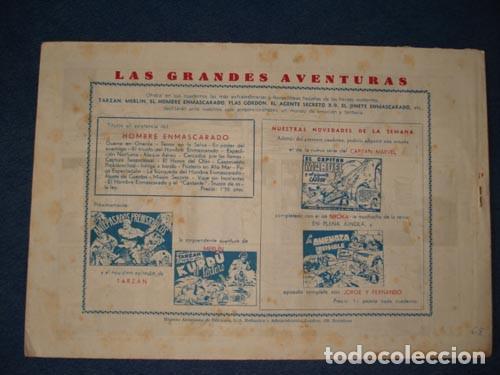 Tebeos: HOMBRE ENMASCARADO 68: LA INOCENCIA DEL HOMBRE ENMASCARADO, 1941, buen estado - Foto 2 - 78323781