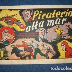 Tebeos: HOMBRE ENMASCARADO 60: PIRATERIA EN ALTA MAR, 1941, BUEN ESTADO. Lote 78324329