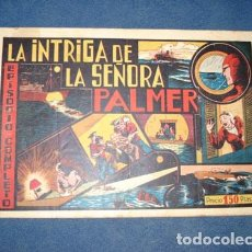 Tebeos: HOMBRE ENMASCARADO 59: INTRIGA A BORDO, 1941, BUEN ESTADO. Lote 78324597
