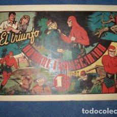Tebeos: HOMBRE ENMASCARADO 52: EL TRIUMFO DEL HOMBRE ENMASCARADO, 1941, MUY BUEN ESTADO. Lote 78325605