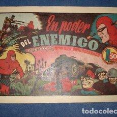 Tebeos: HOMBRE ENMASCARADO 51: EN PODER DEL ENEMIGO, 1941, MUY BUEN ESTADO. Lote 78348245
