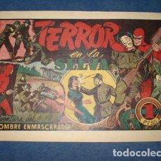 Tebeos: HOMBRE ENMASCARADO 50: TERROR EN LA SELVA, 1941, BUEN ESTADO. Lote 78348637