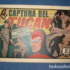 Tebeos: HOMBRE ENMASCARADO 48: LA CAPTURA DEL TUCÁN, 1941, MUY BUEN ESTADO. Lote 78349113