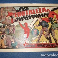 Tebeos: HOMBRE ENMASCARADO 43: LA FORTALEZA SUBTERRÁNEA, 1941, MUY BUEN ESTADO. Lote 78350285