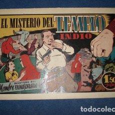 Tebeos: HOMBRE ENMASCARADO 42: EL MISTERIO DEL TEMPLO INDIO, 1941, MUY BUEN ESTADO. Lote 78350557