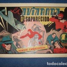 Tebeos: HOMBRE ENMASCARADO 41: LA AVIADORA DESAPARECIDA, 1941, MUY BUEN ESTADO. Lote 78350765