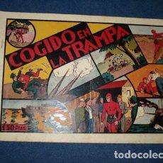 Tebeos: HOMBRE ENMASCARADO 18: COGIDO EN LA TRAMPA, 1941, BUEN ESTADO. Lote 78351457