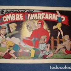 Tebeos: HOMBRE ENMASCARADO 37: LA JUVENTUD DEL HOMBRE ENMASCARADO, 1941, MUY BUEN ESTADO. Lote 78520625