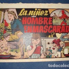 Tebeos: HOMBRE ENMASCARADO 36: LA NIÑEZ DEL HOMBRE ENMASCARADO, 1941, BUEN ESTADO. Lote 78521309