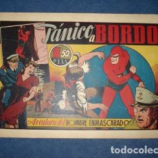 Tebeos: HOMBRE ENMASCARADO 33: PÁNICO A BORDO, 1941, MUY BUEN ESTADO. Lote 78522389