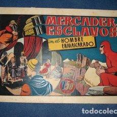 Tebeos: HOMBRE ENMASCARADO 29: EL MERCADER DE ESCLAVOS, 1944, BUEN ESTADO. Lote 78544593