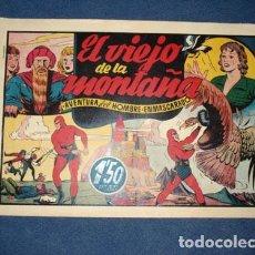 Tebeos: HOMBRE ENMASCARADO 27: EL VIEJO DE LA MONTAÑA, 1944, MUY BUEN ESTADO. Lote 78546509