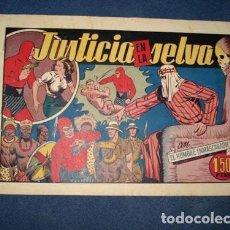 Tebeos: HOMBRE ENMASCARADO 26: JUSTICIA EN LA SELVA, 1944, BUEN ESTADO. Lote 78547345