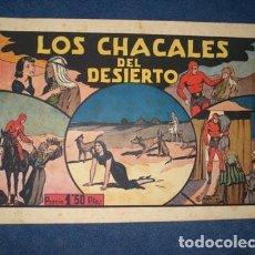 Tebeos: HOMBRE ENMASCARADO 20: LOS CHACALES DEL DESIERTO, 1943, BUEN ESTADO. Lote 78552997