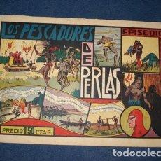 Tebeos: HOMBRE ENMASCARADO 18: LOS PESCADORES DE PERLAS, 1941, BUEN ESTADO. Lote 78554693