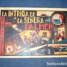 Tebeos: HOMBRE ENMASCARADO 15: LA INTRIGA DE LA SEÑORA PALMER, 1941.. Lote 78555725