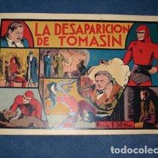 Tebeos: HOMBRE ENMASCARADO 12: LA DESAPARICIÓN DE TOMASIN, 1941, MUY BUEN ESTADO. Lote 78558137