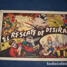 Comics - FLAS GORDON 13: EL RESCATE DE DESÍRA, 1946, buen estado - 78635421