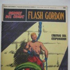 Comics - HEROES DEL COMIC - FLASH GORDON Nº 9 - 79030417