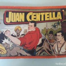Tebeos: ANTIGUO CÓMIC JUAN CENTELLA - Nº 12 - ED. HISPANO-AMERICANA - 1944. ORIGINAL. Lote 79032233