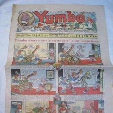 Tebeos: YUMBO N. 93 - HISPANO AMERICANA - ORIGINAL. Lote 80600350